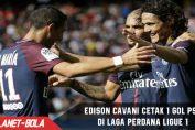 Edison Cavani Cetak Gol Perdana untuk PSG di Ligue 1