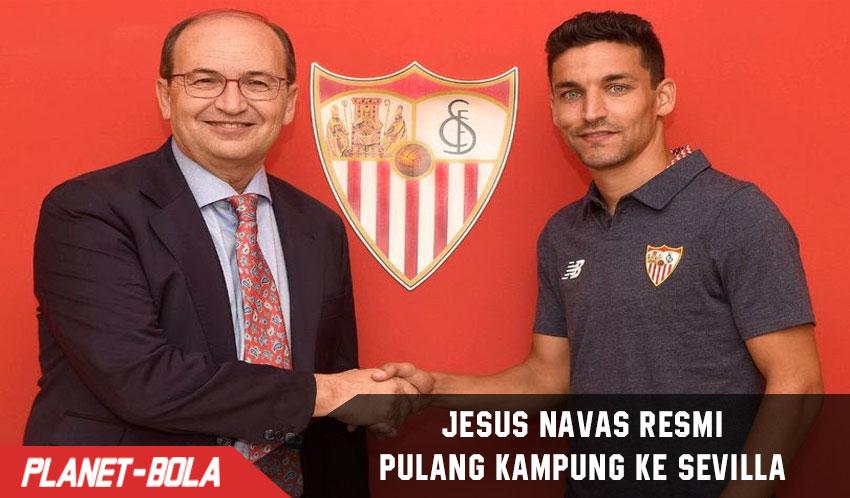Jesus Navas Balik ke Sevilla