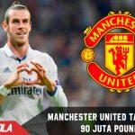 Manchester United Tawar Bale 90 Juta Pounds