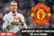 Manchester United Tawar Bale, 90 Juta Pounds