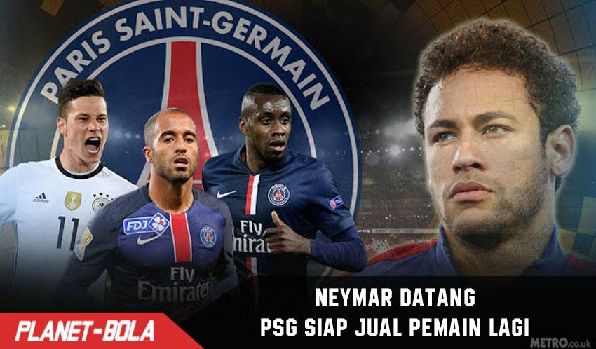 Neymar Datang, PSG Siap Jual Pemain