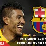 Paulinho sudah dapat Ijin untuk bergabung ke Barcelona