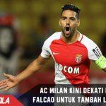 Butuh Striker Lagi, AC Milan Kini Target Datangkan Falcao