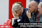 Wenger Tertunduk Setelah Kalah dari Livepool