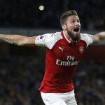 Hasil Liga Europa, Arsenal Menang Sempurna Atas BATE Barisov, Gol ke-100 Olivier Giroud