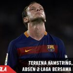 Terkena Hamstring, Rakitic Absen 2 Laga bersama Barcelona