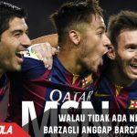 Walau tidak ada Neymar, Barzagli Tetap anggap Barca Superior
