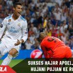 Sukses bawa Madrid hajar Apoel,  Zidane Hujani pujian ke Ronaldo