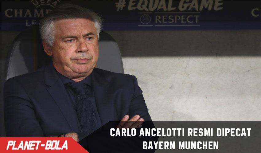 Resmi, Bayern Munich Pecat Carlo Ancelotti