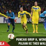 Puncaki Grup H, Wenger hujani Pujian ke Theo Walcott dkk