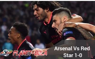 Hasil-liga-eropa-Arsenal-vs-red-star-1-0