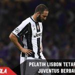 Walau telah dikalahkan Lazio. Pelatih Lisbon anggap Juve tetap berbahaya