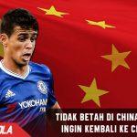 Kangen Chelsea, Oscar sudah tidak betah di Liga China