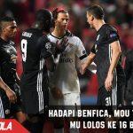 Hadapi Benfica, Mou ingin MU melangkah lebih Jauh di UCL