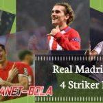 Benzema Bermasalah, Real Madrid Incar 4 Striker Ini Sebagai Pengganti