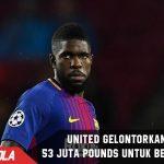 United gelontorkan dana 53 juta Pounds untuk Bek Barca ini