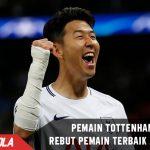 Pemain Tottenham ini sukses sabet Pemain Terbaik Asia 2017