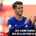 Jadi Ujung tombak Chelsea, Morata akui belajar banyak dari Costa