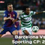Penyisihan Liga Champions Grup D: Barcelona Hajar Sporting CP 2-0