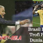 Bersama Neymar, Brasil Incar Trofi Piala Dunia 2018