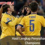 Hasil Penyisihan Liga Champions: MU, Roma, Juventus, Liverpool Lolos ke 16 besar