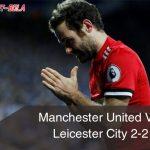 "Hasil Manchester United Vs Leicester City Imbang, Mourinho: ""Anda Mendapat Hukuman."""