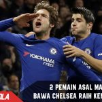 2 Pria asal Madrid bawa Chelsea taklukan Brighton and Hove