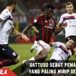 Gattuso sebut Franck Kessie hampir Mirip dengannya!