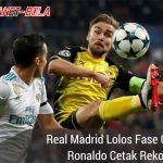 Real Madrid 3-2 Borussia Dortmund, Ronaldo Cetak Rekor
