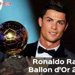 Akhirnya Ronaldo Raih Penghargaan Ballon d'Or 2017