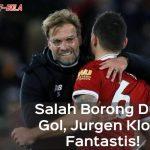 Salah Borong Dua Gol, Jurgen Klop: Fantastis!