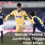 Hasil Serie A Liga Italia: Bekuk Verona 3-1, Juventus Tinggalkan Inter Milan