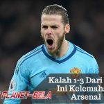 Ditekuk 1-3 Oleh MU, Ternyata Ini Kelemahan Arsenal