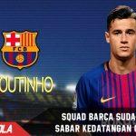 Seluruh skuat Barca sudah ingin sambut kedatangan Coutinho