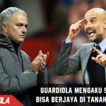 Guardiola mengaku puas bisa berjaya di Tanah Inggris