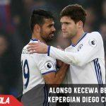 Marcos Alonso kecewa berat dengan kepergian Diego Costa