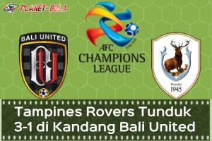 Liga-Champions-Asia-bali-United-Vs-Tampiners-Rovers