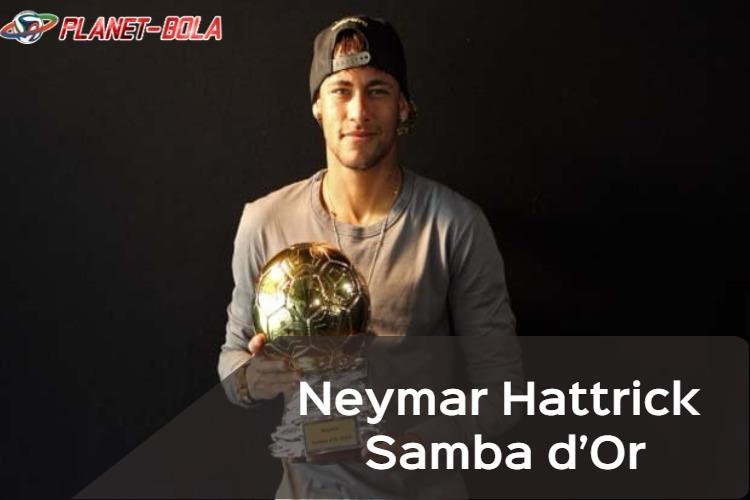 Neymar-raih-Samba-d'Or-2018