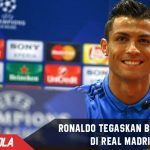 Diterpa isu Transfer, Ronaldo bantah tinggalkan Madrid
