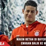 Makin betah di Bayern, James enggan kembali ke Madrid