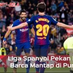 Taklukkan Levante 3-0, Barcelona Kian Kukuh di Puncak