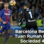 Liga Spanyol: Barcelona Bekuk Tuan Rumah Real Sociedad 4-2