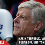 Makin terpuruk, Ini kata Wenger saat ditanya nasibnya di Arsenal