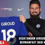Kedatangan Giroud bisa bermanfaat untuk Pekembangan Morata