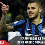 United menyerah incar Icardi, Kans Madrid semakin besar