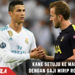 Gaji setara Ronaldo, Kane setuju dengan Real Madrid