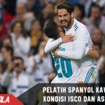 Pelatih Spanyol Khawatir dengan Kondisi Isco dan Asensio