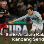 Kelelahan, Lazio Kalah di Kandang Sendiri