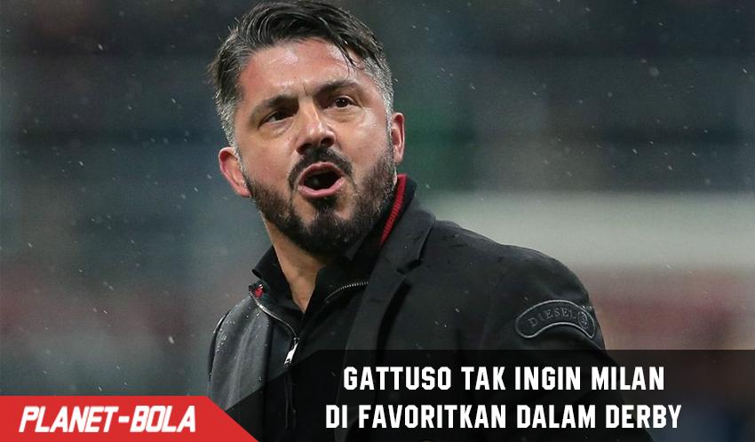 Gennaro Gattuso Tak Ingin Milan Di Favoritkan Saat Derby