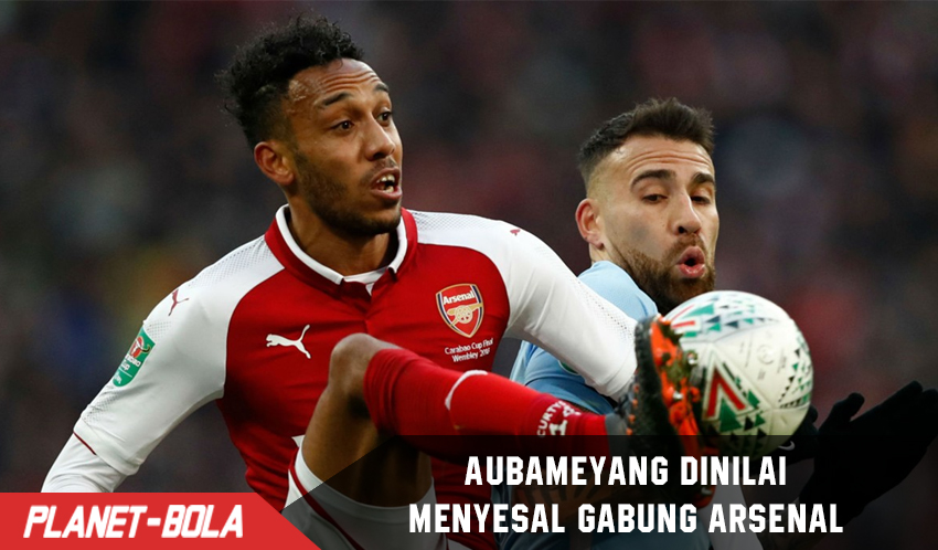 Pierre-Emerick Aubameyang Menyesal Gabung ke Arsenal